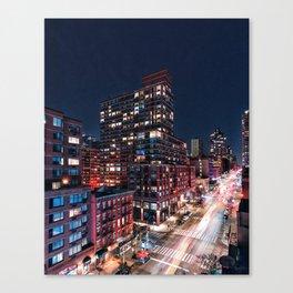 10th Avenue Canvas Print