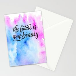 Nonbinary Future Stationery Cards