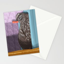 Domestic Seal Stationery Cards