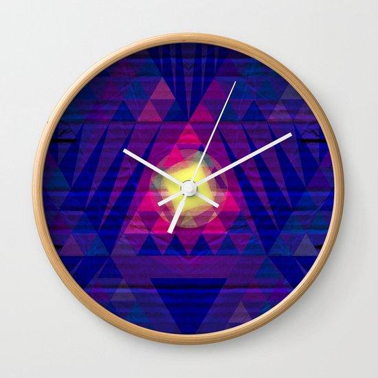 Intergalactic Sunrise Wall Clock