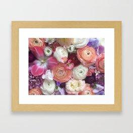Flower Design 12 Framed Art Print