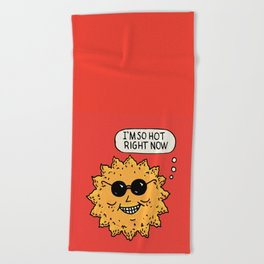 Hot Sun Beach Towel