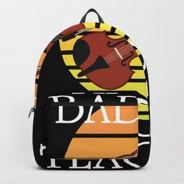 Badass Violin Teacher Backpack