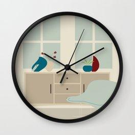 Inside mid century modern 112 Wall Clock