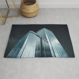 City of glass (1983) Rug