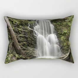 Berry Creek Falls Rectangular Pillow