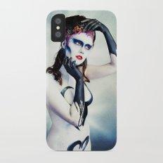 Queen of hearts full Slim Case iPhone X
