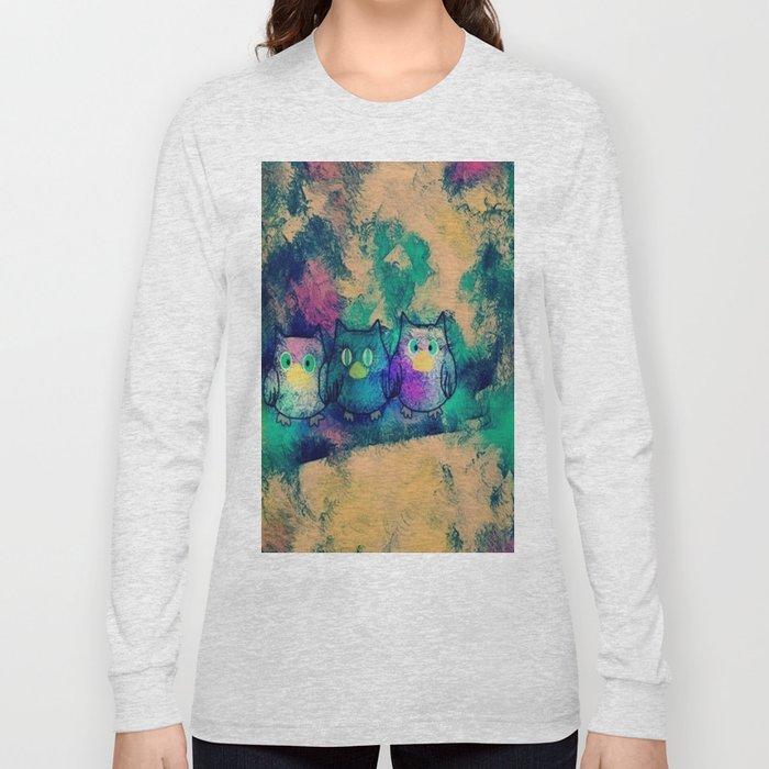 owl-258 Long Sleeve T-shirt