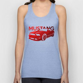 Ford Mustang Boss - classic red - Unisex Tank Top