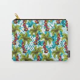 Tropical Christmas Carry-All Pouch