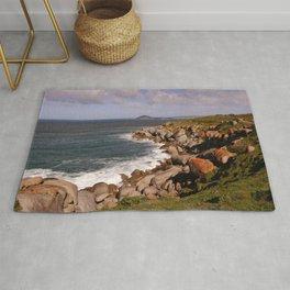Rocky Island Coastline Rug