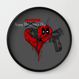 Happy Dead pool Day Wall Clock