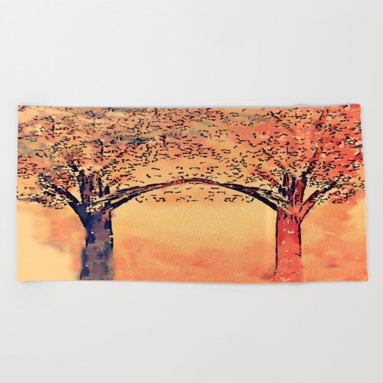 art-943 Beach Towel