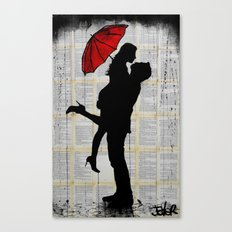 november rain Canvas Print