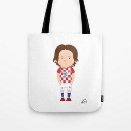 Luka Modrić - Croatia - World Cup 2014 Tote Bag