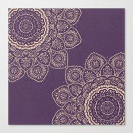 Lavender Tulips Canvas Print