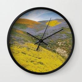 Bloomtown California Wall Clock
