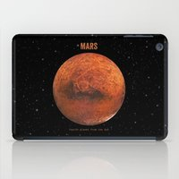 mars iPad Cases featuring Mars by Terry Fan