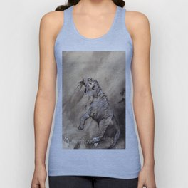 Heart of the Tiger Unisex Tank Top