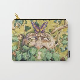 The Green Man Carry-All Pouch