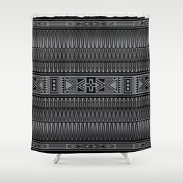 The Gathering (Gray) Shower Curtain
