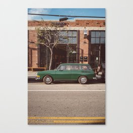 Los Angeles Arts District Canvas Print