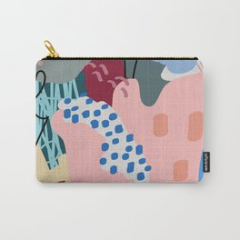 Autumn Abstraction Poster Carry-All Pouch