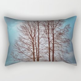 By The River Banks Rectangular Pillow
