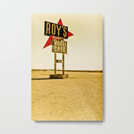 Roy's Motel and Cafe (Route 66) Metal Print