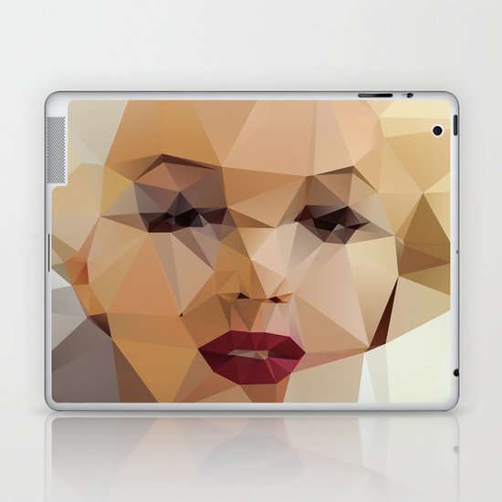 Monroe. Laptop & iPad Skin