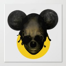 Weird Mickey Mouse Canvas Print