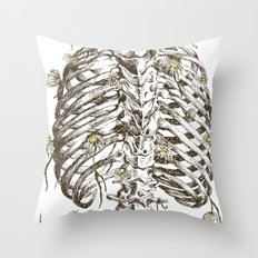 Life & Death Throw Pillow