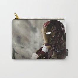 Iron Man age of ultron photoshop painting Carry-All Pouch