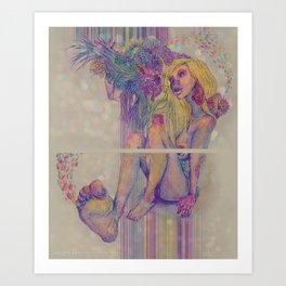 shamanic Art Print
