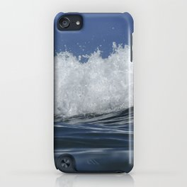 Wave Spill iPhone Case