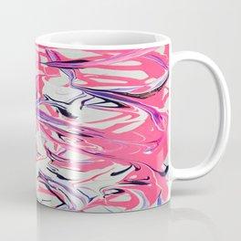 Pink & Purple Paint Drools Coffee Mug