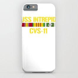 USS Intrepid CVS  Vietnam Veteran T Shirt iPhone Case