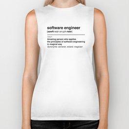 Software Engineer definition Biker Tank