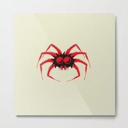 Itsy Bitsy Spider Gary Metal Print
