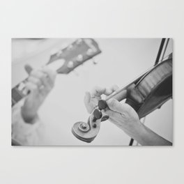 Guitar and Fiddle Canvas Print