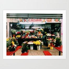 Progresso Flowers Art Print