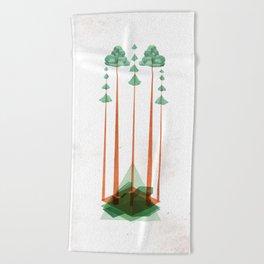 3Lives - Plant Beach Towel