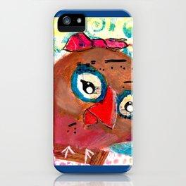 Beau - Quirky Bird Series iPhone Case