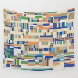 Chromatetude (Soft Colours) Wall Tapestry