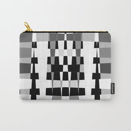 Little Boxes of Black & White Carry-All Pouch