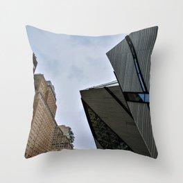 Toronto architecture Throw Pillow