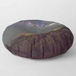 Milky Way - Bryce Canyon National Park Utah Floor Pillow