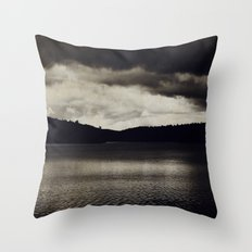 Stormy Days Throw Pillow
