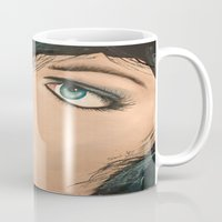 lip Mugs featuring Lip Stick by Stews-Art