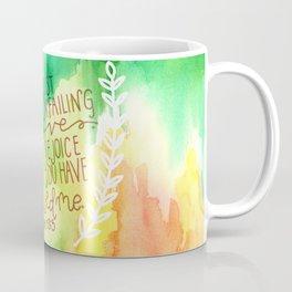 Psalm 13:5  // Watercolor Verses Coffee Mug